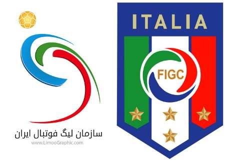 امضای توافقنامه همکاری بین سازمان لیگ فوتبال ایران و فدراسیون فوتبال ایتالیا